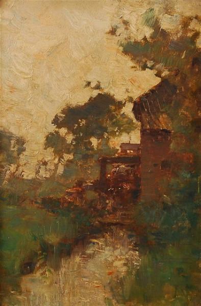 Franz Binje - Le moulin a eau