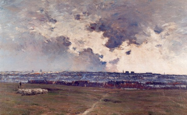 Franz Binje - Panorama van Brussel