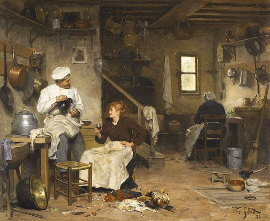 Victor Gilbert - Les cuisiniers