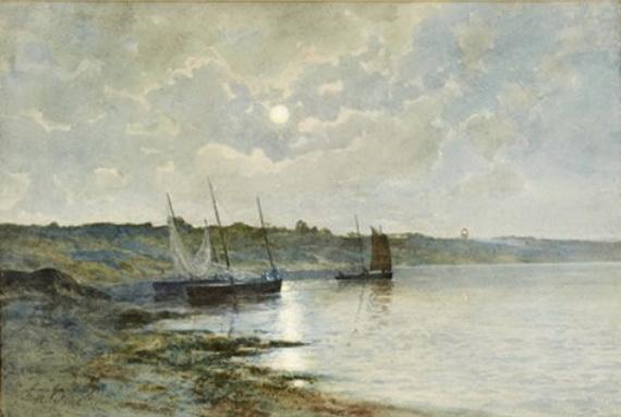 Anna Gardell Ericson - Mansken over fiskeskutor