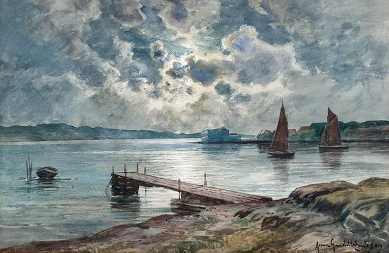Anna Gardell Ericson - Scene from Marstrand