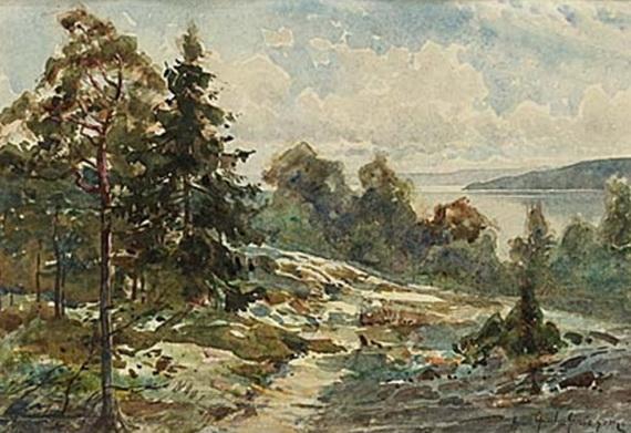 Anna Gardell Ericson - Skargardsvy