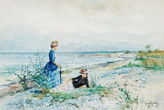 Anna Gardell Ericson - Excursion to Norderstrand