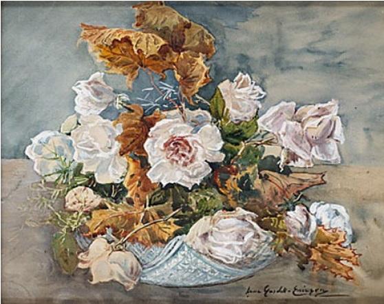 Anna Gardell Ericson - Blommor