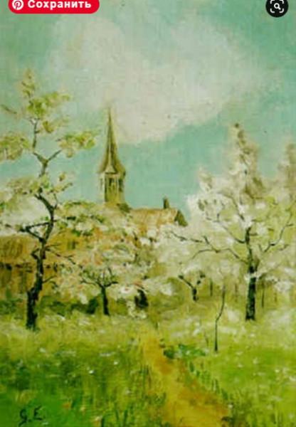Anna Gardell Ericson - Blommande appeltrad