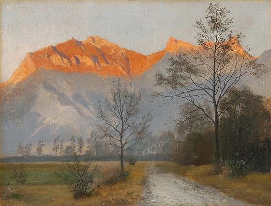 Ernst Hodel Junior - Falknis bei Ragaz