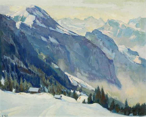 Ernst Hodel Junior - Dossenwand