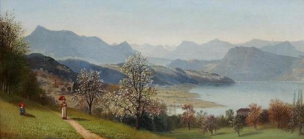 Ernst Hodel Junior -  Spaziergang