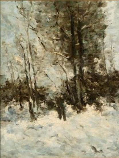 Guillaume Vogels - Paysage hivernal