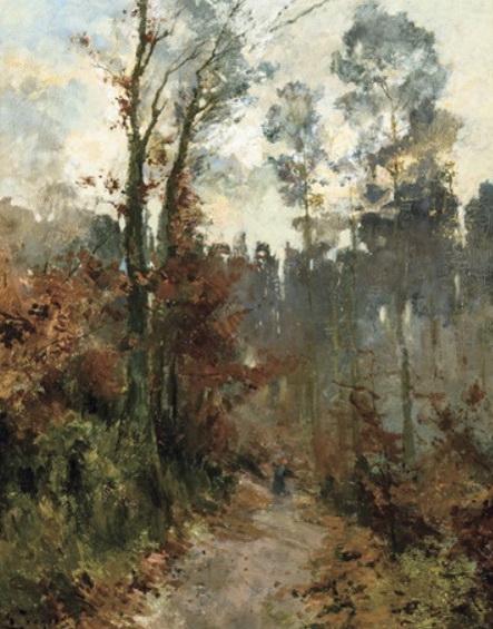 Guillaume Vogels - A forestscape