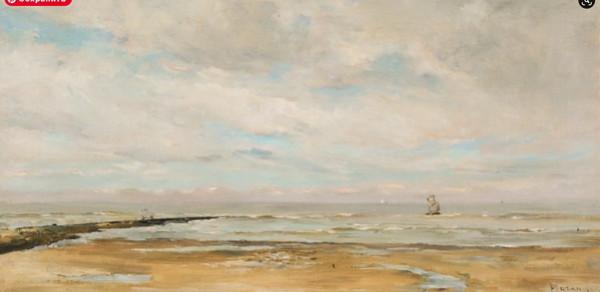 Louis Artan de Saint-Martin - Plage et mer  2