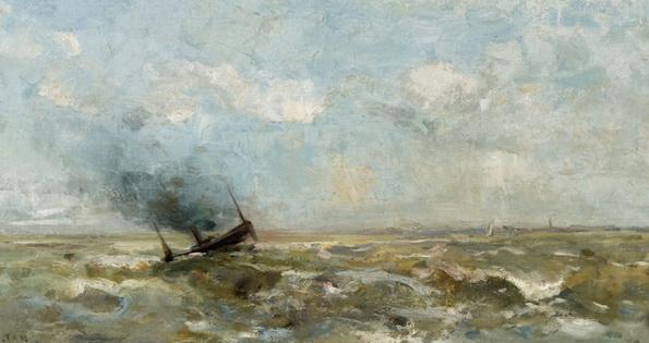 Louis Artan de Saint-Martin - Berck sur mer