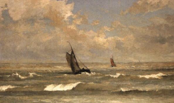 Louis Artan de Saint-Martin - La Mer du Nord