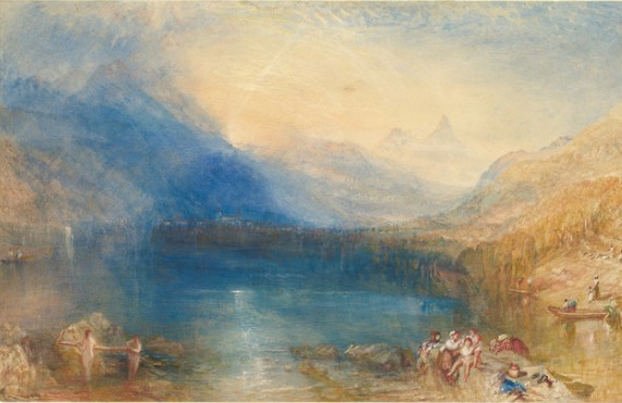 J. M. W. Turner - The Lake of Zug