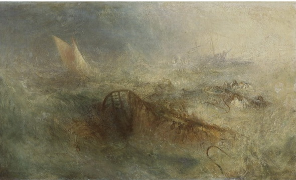 J. M. W. Turner - The Storm,