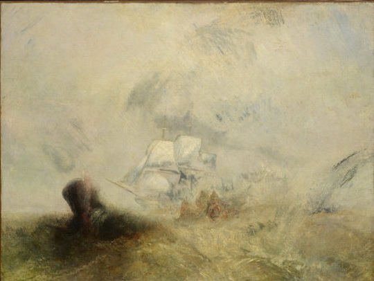 J. M. W. Turner - Whalers, ca. 1845