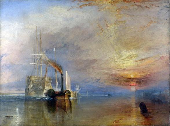 J. M. W. Turner - Последний рейс корабля Отважный