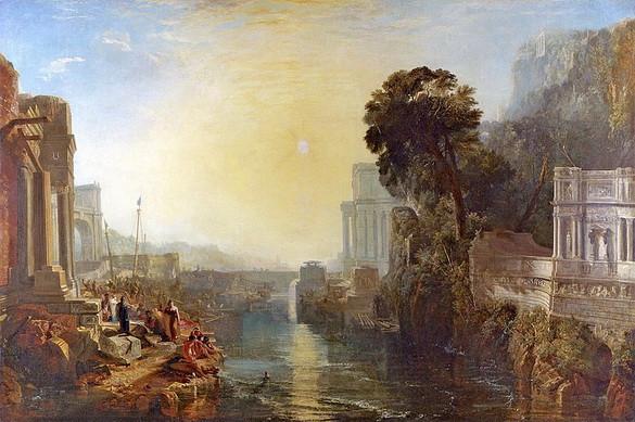 J. M. W. Turner - Дидона, основательница Карфагена
