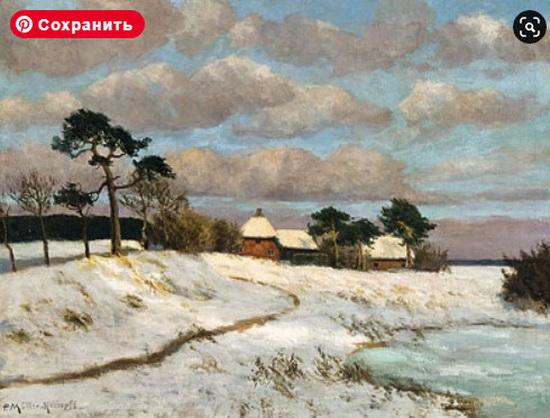 Paul Muller-Kaempff - Winterlandschaft