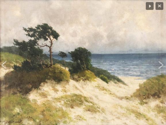 Paul Muller-Kaempff - dunes of ahrenshoop