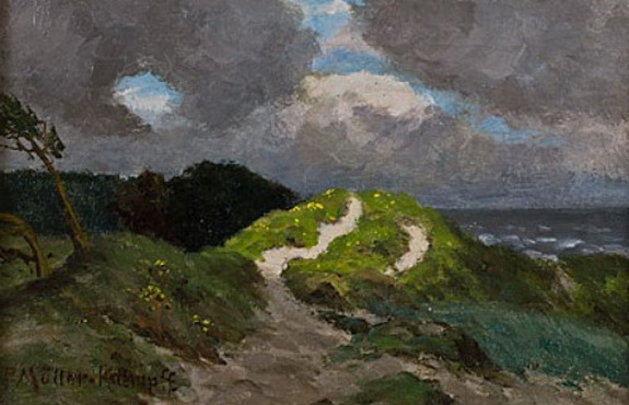 Paul Muller-Kaempff - Aufziehendes Wetter