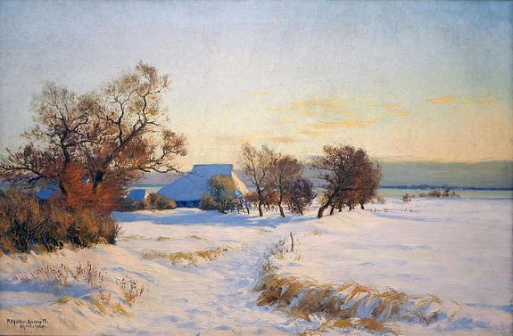 Paul Muller-Kaempff - Kaempff Winter in Mecklenburg