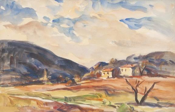 Marcel Arnaud - Mas en Provence