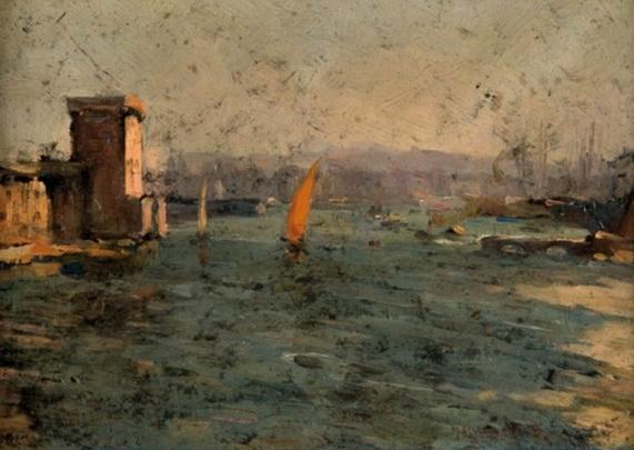 Marcel Arnaud - L'entree du port de Marseille