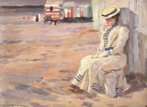 Victor Gilsoul - Sur la plage
