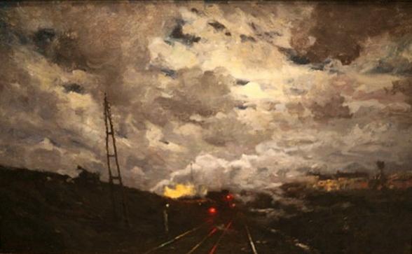 Victor Gilsoul - La gare de Schaarbeek
