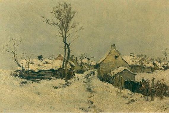 Isidore Verheyden - Huile sur toile