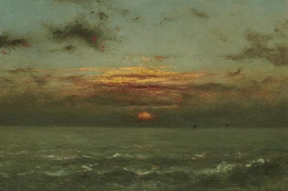 Jules Dupr - Seascape