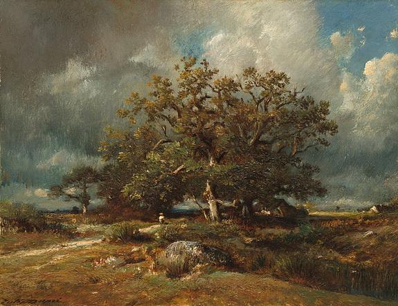 Jules Dupr - The Old Oak