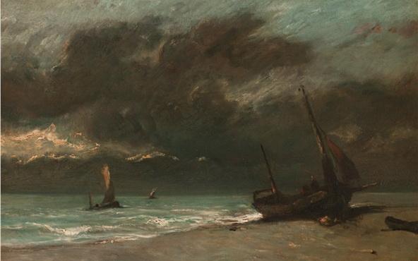 Jules Dupr - Bord de Mer