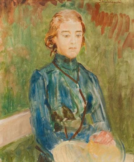 Jacek Malczewski - Portrait of woman