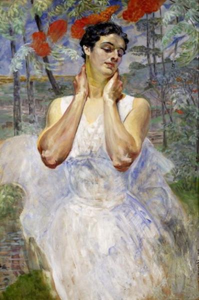 Jacek Malczewski - Portrait of a Woman