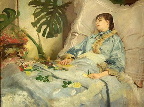 Jacek Malczewski - Convalescent Woman