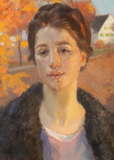 Jacek Malczewski - Portret w jesiennym słoncu