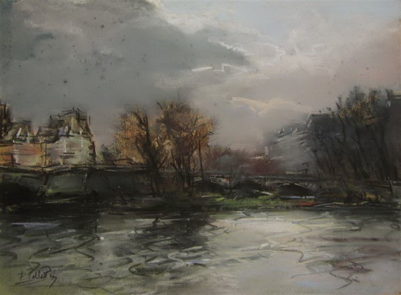 Pierre-Jacques Pelletier - Le Pont Neuf, Paris