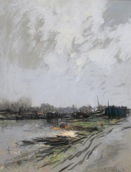 Pierre-Jacques Pelletier - Matin d'hiver
