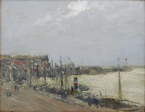 Pierre-Jacques Pelletier - Vue Portuaire
