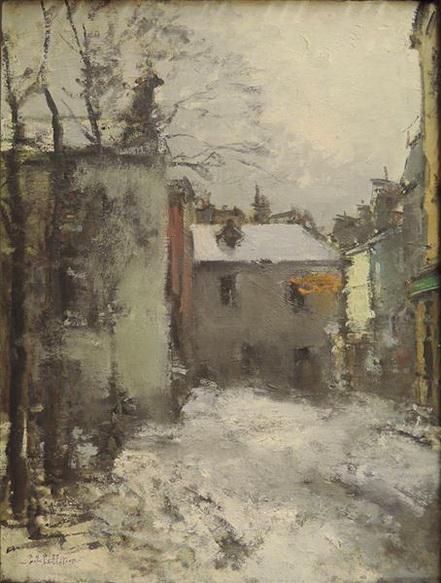 Pierre-Jacques Pelletier - Paris, Montmartre, la Place du Tertre