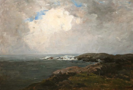 Nathaniel Hone the Younger - Breaking waves