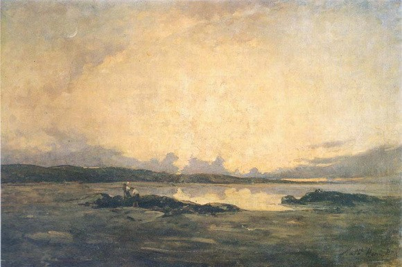 Nathaniel Hone the Younger - Evening Malahide Sands
