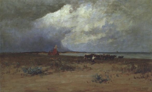 Nathaniel Hone the Younger - Malahide Estuary