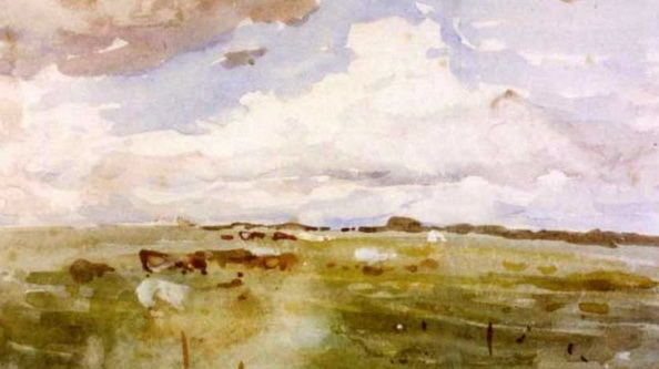 Nathaniel Hone the Younger - Pastures with cattle