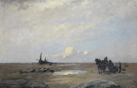Nathaniel Hone the Younger - On the sands of Scheveningen
