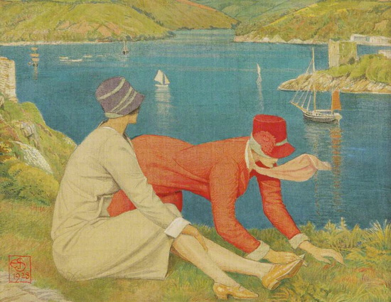 Joseph Edward Southall - The Botanists