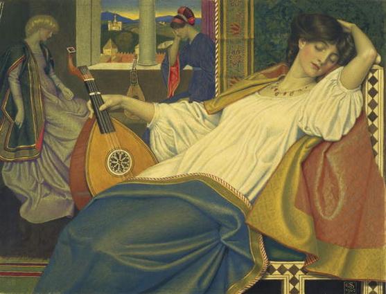 Joseph Edward Southall - The Sleeping Beauty