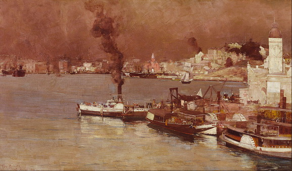 Tom Roberts - Milson's Point, Sydney
